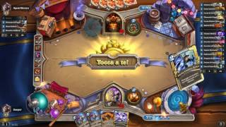 Hearthstone 009 - Priest vs Warrior - no dragons, control