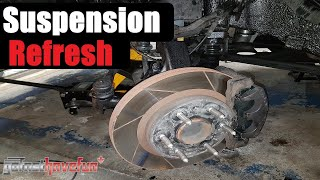 make your truck drive like new! refresh the front suspension (2wd chevy  silverado) | anthonyj350 - youtube  youtube