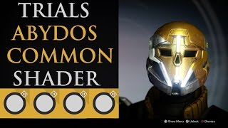 destiny trials of osiris shader abydos common