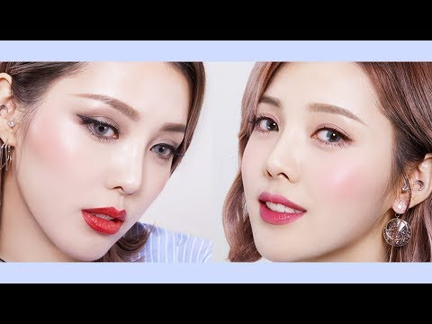 Lovely & Chic cool-tone makeup with innisfree (With subs) 반전 쿨톤 메이크업