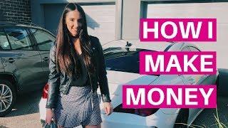 HOW I MAKE MONEY AS A #GIRLBOSS