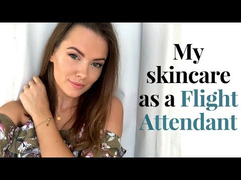 MY SKINCARE AS A FLIGHT ATTENDANT | Emirates Cabin Crew