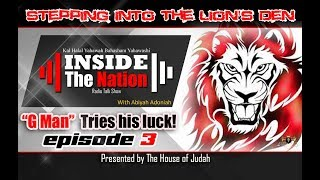 SICARII vs GMAN on another HOT SEAT SESSION (THE LION'S DEN) EPISODE 3