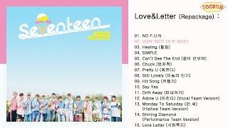 [45.20 MB] [Full Album] SEVENTEEN (세븐틴) - Love&Letter [Repackage]