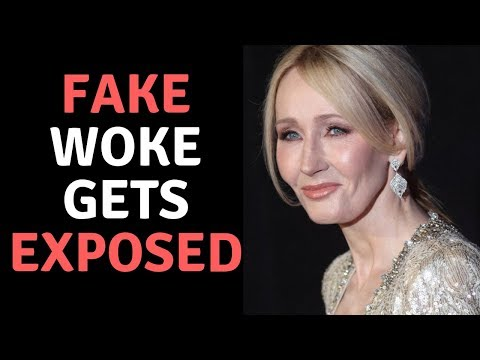JK Rowling Has FAKE Wokeness Exposed! Hilarious Backfire For Harry Potter Author