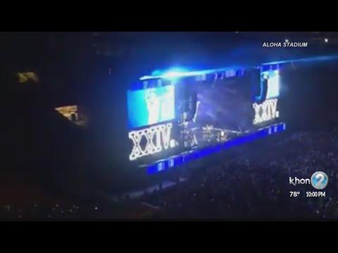 Bruno Mars brings '24K Magic' to Aloha Stadium