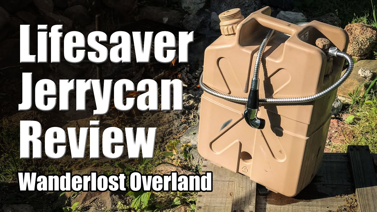 Water Filter Jerry Can Review, For Camping And Overlanding