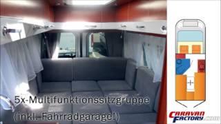 Kastenwagen-Wohnmobil auf Mercedes Sprinter 316 CDI