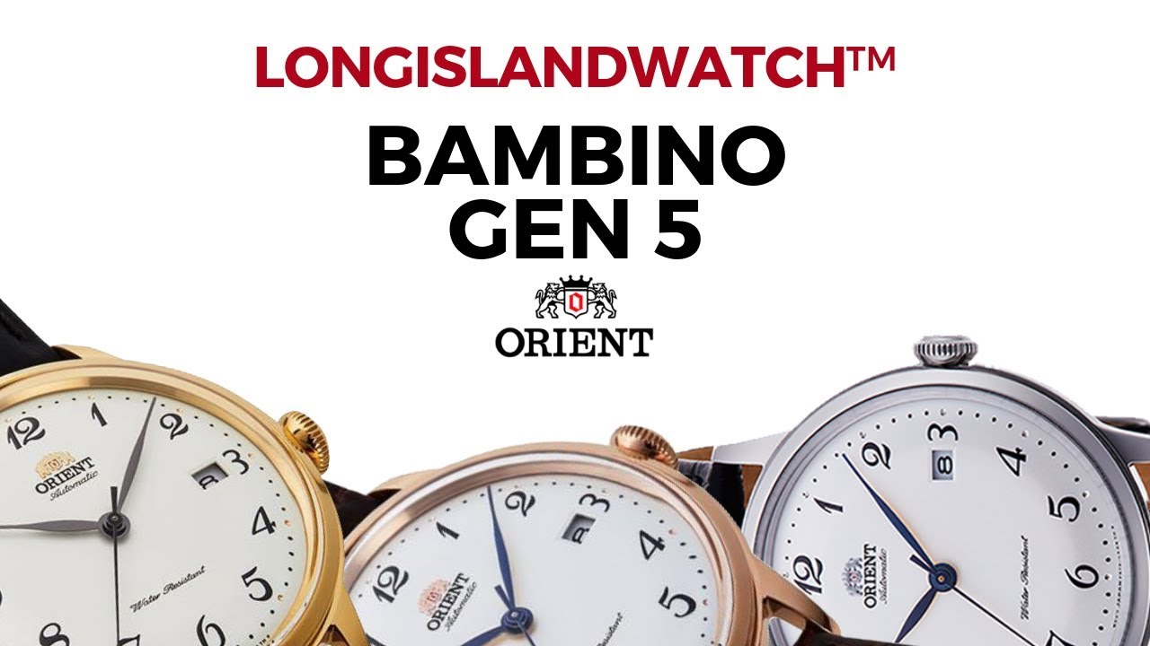 New Orient Release - The Bambino V5 Automatic Dress Watch