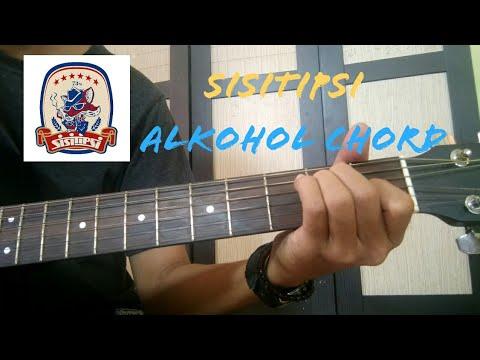 TUTORIAL   Sisitipsi - Alkohol ( Kunci Gitar )
