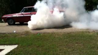 64' Sport Fury Burnout contest 1