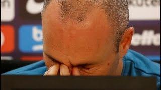 Rueda de prensa completa de la despedida de Andrés Iniesta