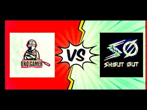 #shoutoutYT #Unq Gamer #Pubg Mobile       SHOUT OUT YT V/S UNQ GAMER ||#PUBG MOBILE ||Intense Fight