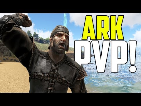 ARK PVP IS BACK! - Ark Survival Evolved (The Volcano PVP #1)
