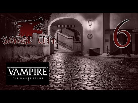 """Sexy Mark Rein-Hagen"" Vampire the Masquerade V5 SAVAGE CITY pt. 6"
