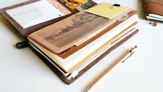 how i use my midori traveler s notebook vacation setup