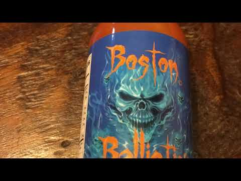 Newbury Street Nightmare!! (Boston Ballistie Hot Sauce)🌶