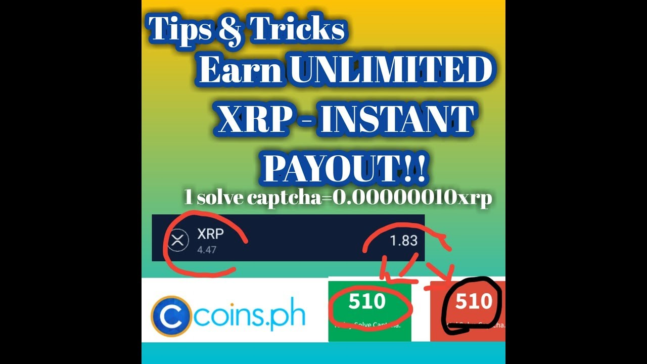 Dropz Tips & Tricks|Earn Free XRP by Solving Unlimited Captcha|Instant Payout!! Legit! - YouTube