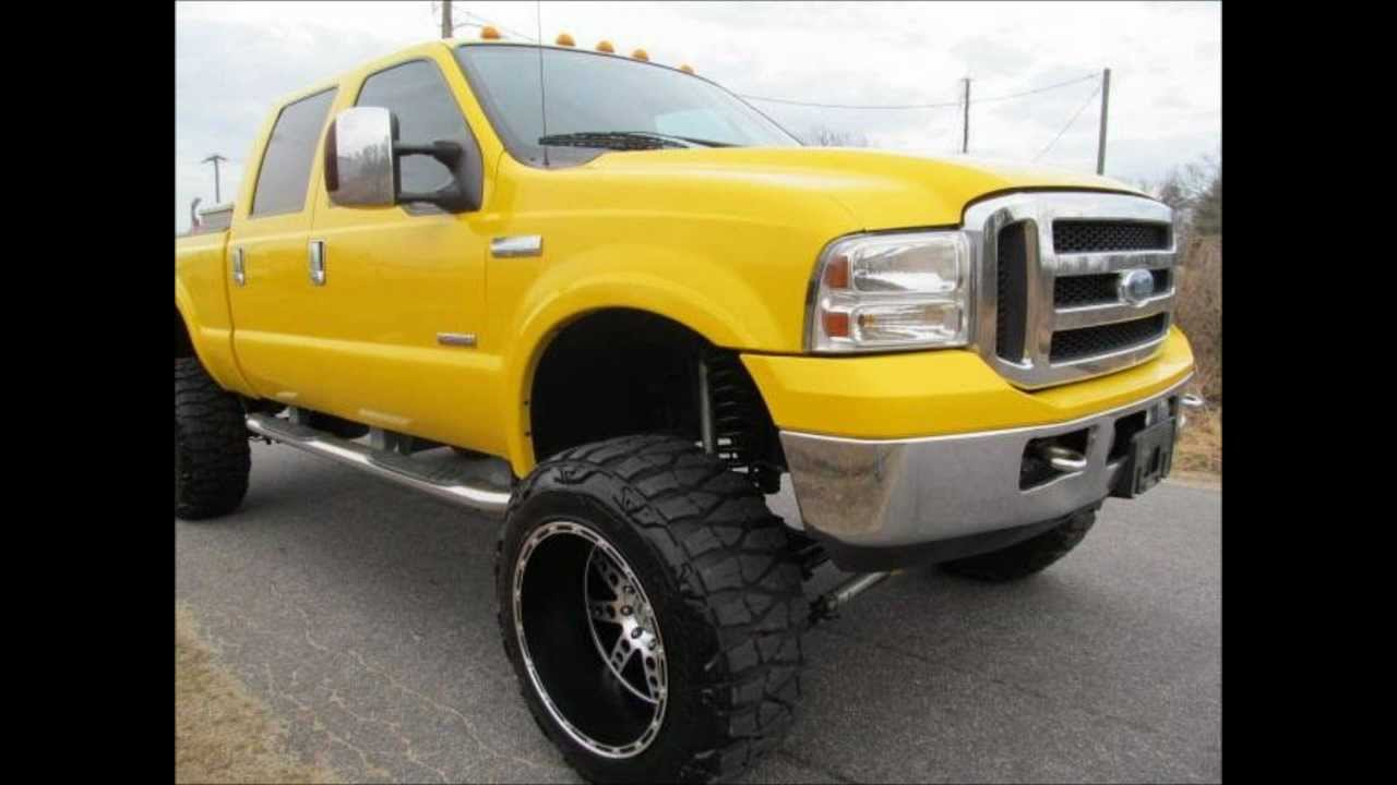 Lifted Diesel Trucks >> 2006 Ford F-350 Amarillo Diesel Lariat Lifted Truck For ...