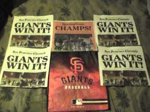 Thank You San Francisco Giants