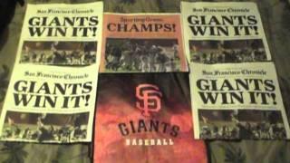 Thank You San Francisco Giants