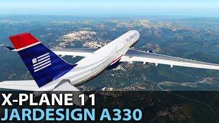The Pseudo Long Haul, JARDesign A330-243 in X-Plane 11, PilotEdge ✈️ 2017-07-14