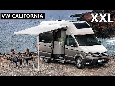 VW California Xxl >> 2019 VW Grand California (XXL) Camper Van - YouTube