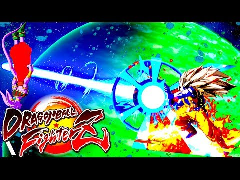 Dragon ball Fighter Z Gameplay Special Moves Meteor Attack Goku Super Saiyan