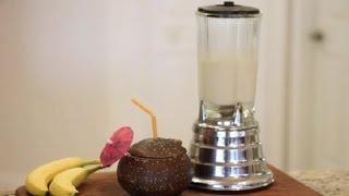 How To Make A Pina Colada With No Alcohol Using Fruit : Virgin & Non-alcoholic Drink Recipes