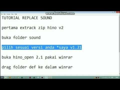 Tutorial memasang sound HINO NG V2 SMT