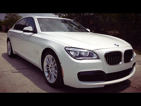 2014 Bmw 750li M Sport Sedan Full Review Start Up