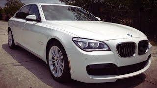 2014 BMW 750Li M Sport Sedan Full REVIEW, Start Up, Exhaust