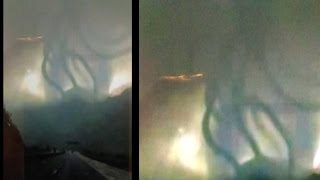 WEIRD AS HELL!! UFO PROJECT BLUE BEAM EXPOSED!! MASSIVE HAARP HOLOGRAPHIC TEST!? 5/25/2016