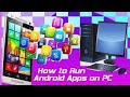 Run Android Apps on your PC | Whatsapp Imo Viber Line & Mobile Games Chalaen