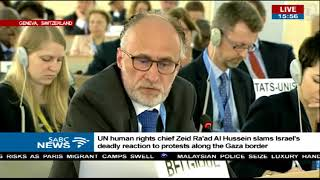 Special session of the UN Human Rights Council on Gaza killings thumbnail