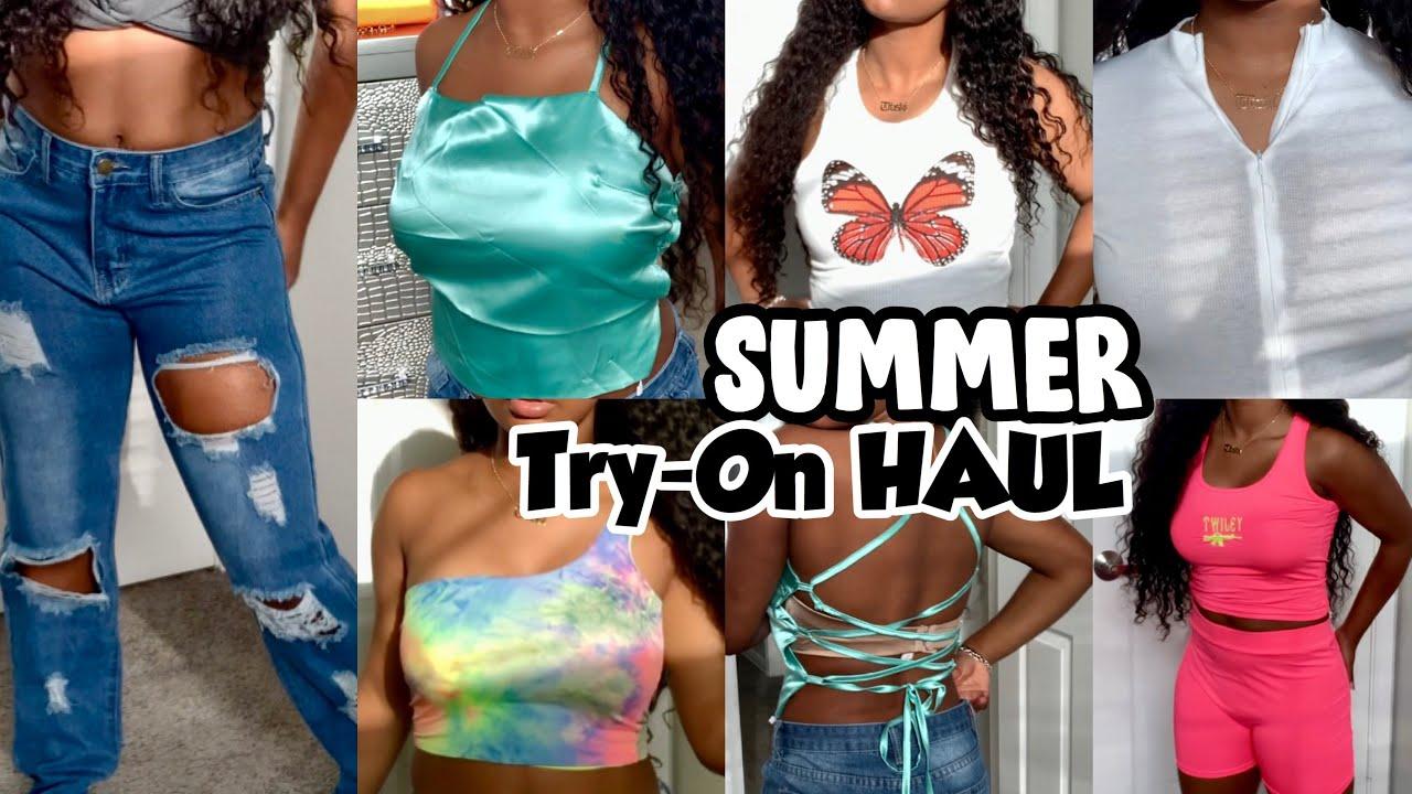 SUMMER TRY-ON HAUL 2020 | Yoins + Yafeini Jewelry!