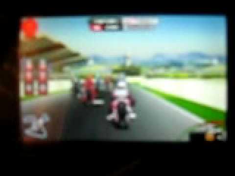 LG GT 505 MotoGP 09 Landscape Mode