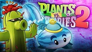 Plants vs Zombies 2 - PIRAMIDA LVL 8 - 14