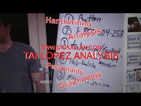 Tai Lopez Analysis