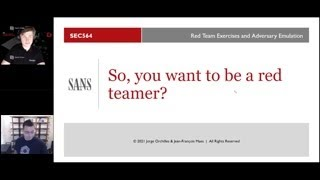 So You Want To Be A Red Teamer?