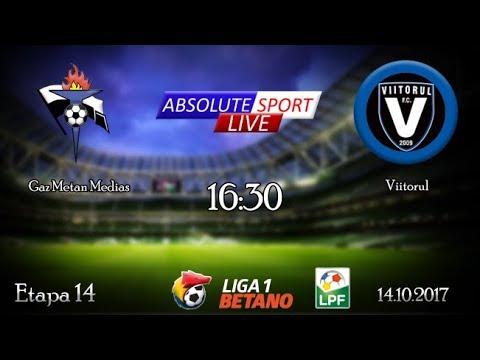 LIVE Gaz Metan Medias - FC Viitorul Constanta - Etapa 13 - Liga 1 - 14/10/2017