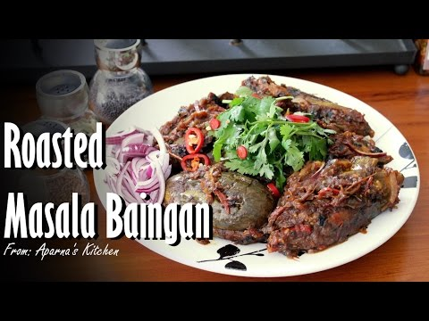 DIY - ROASTED MASALA BAINGAN [EGGPLANT] - RECIPE