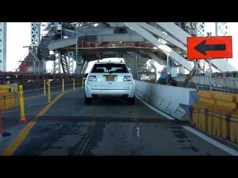 Bayonne Bridge northbound [Late 2016 Construction Update]