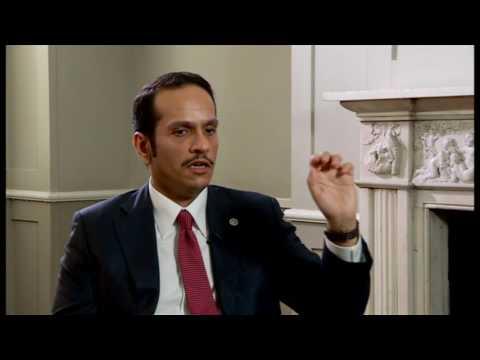 Qatar FM interview with BBC