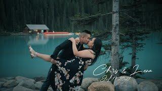 Banff Save The Date - Chris + Lena