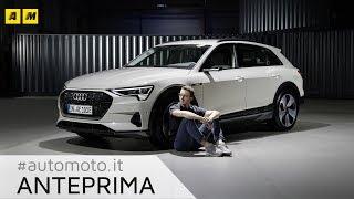 Audi e-tron 2018. SUV elettrico per sfidare Tesla e Jaguar