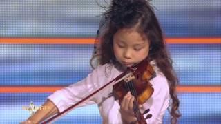 "Miyu 7 ans, violoniste, joue ""L'Adagio d'Albinoni"" -  Prodiges"