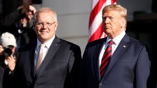 Watch live: Trump holds news conference with Australian prime minister
