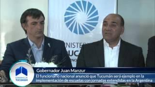 Las escuelas de Las Talitas serán modelo de gestión educativa a nivel país - Gobierno de Tucumán