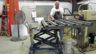 Spot Welding A Steel Pallet